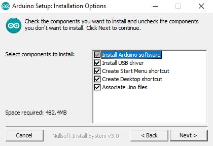 Arduino Setup - Custom Installation