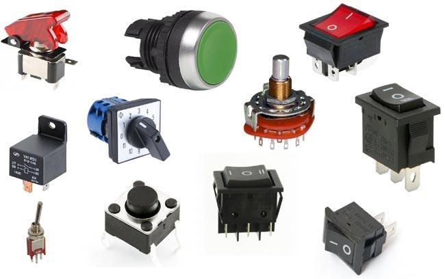 Different Types Of Switches   No  Nc  Latch  U00bb Pija Education