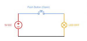 Switch open