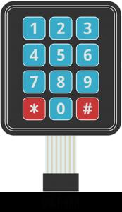 keypad-pinout