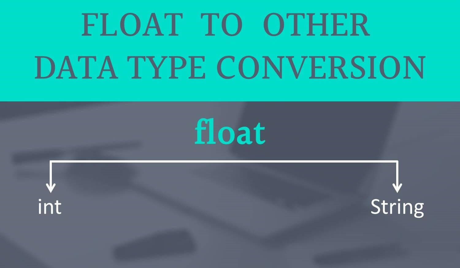 convert float to