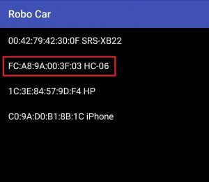 robot car apk